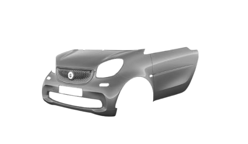 Цвета кузова EQ fortwo cabrio